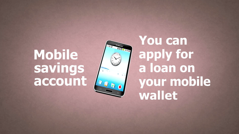Mobile savings account